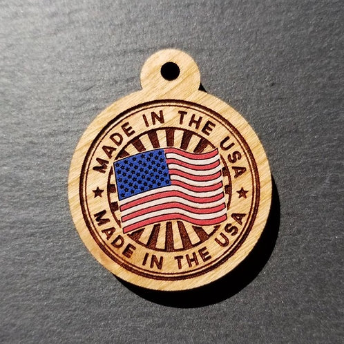 Made in the USA Pet Tag
