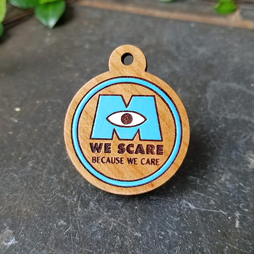 Monsters We Scare Pet Tag