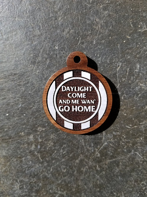 Day-O Themed Pet Tag