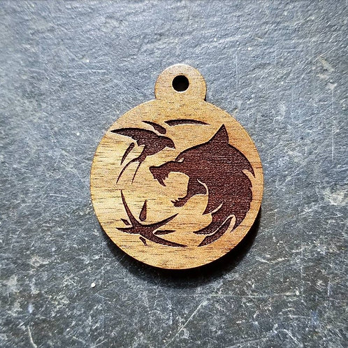 The Witcher Themed Pet Tag