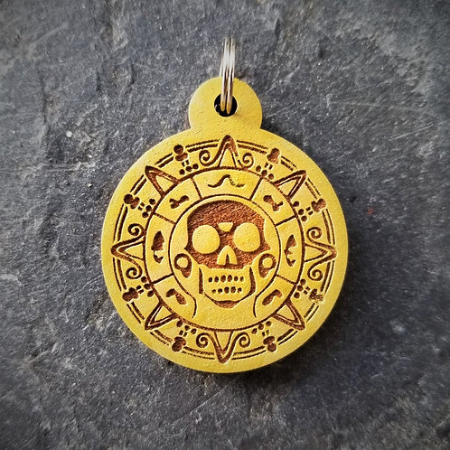 Pirates of the Caribbean Themed Pet Tag