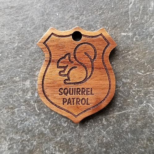 Squirrel Patrol Pet Tag