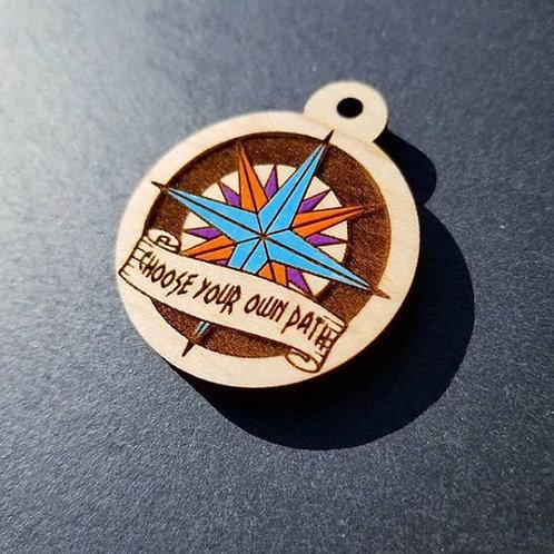 Pocahontas Compass Themed Pet Tag