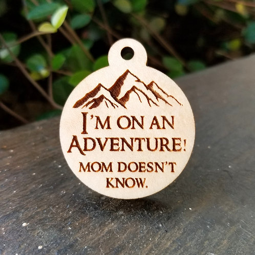 On an Adventure Pet Tag