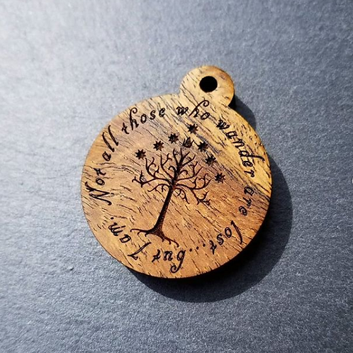 The Lord of the Rings Themed Pet Tags