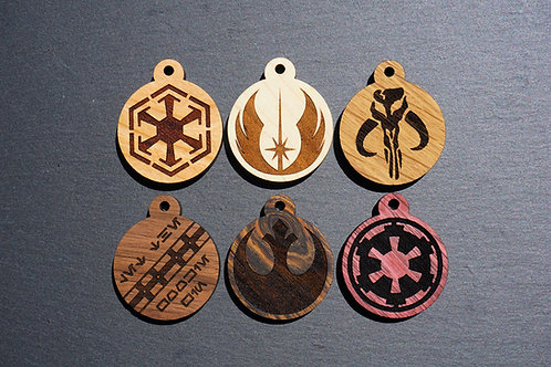 Star Wars Themed Pet Tags