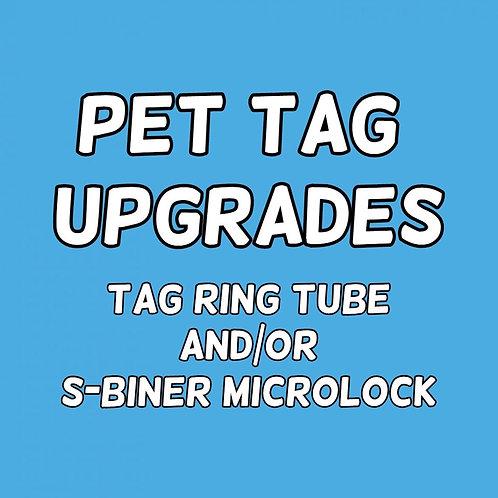 Pet Tag Upgrades