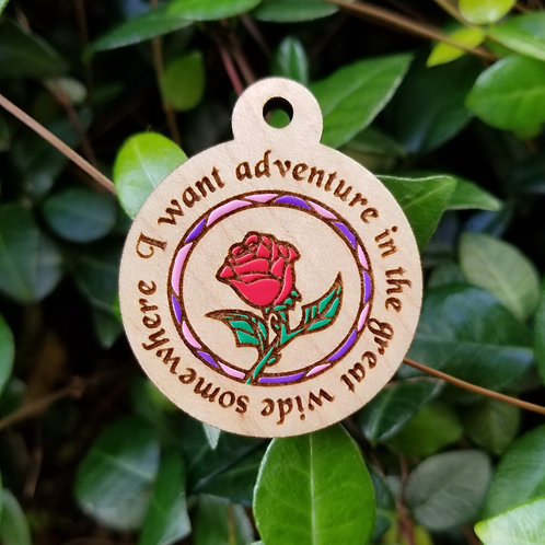Great Wide Somewhere Adventure Pet Tag