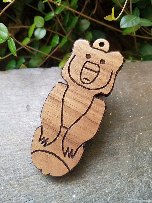 Bear Totem Tag