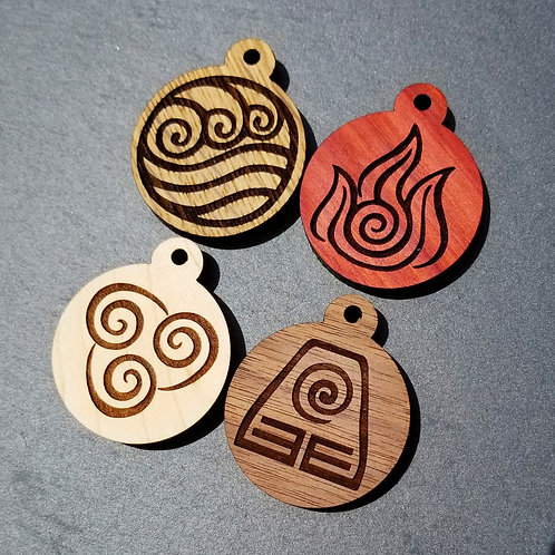 The Last Airbender Themed Pet Tags