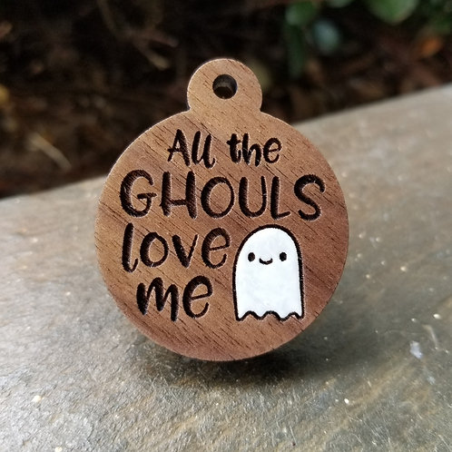 All the Ghouls Pet Tag