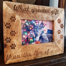 Custom Wooden Picture Frame