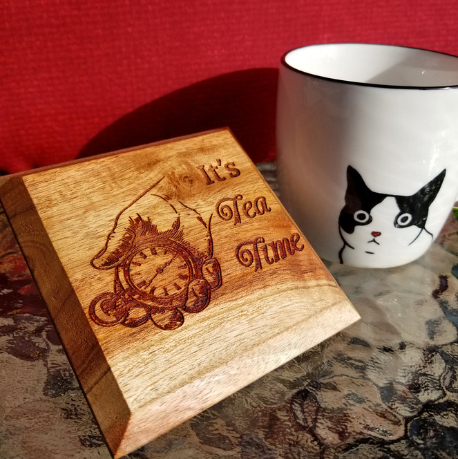 Custom Wooden Coasters