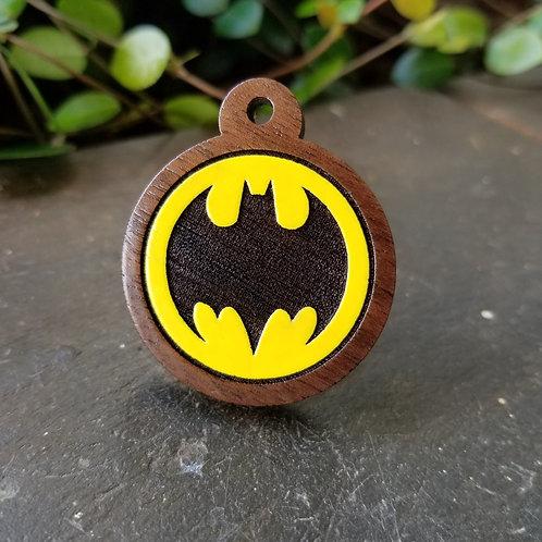Bat Signal Pet Tag
