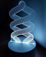 Laser Made Night Light