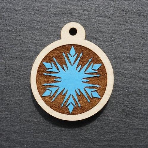 Snowflake Pet Tag
