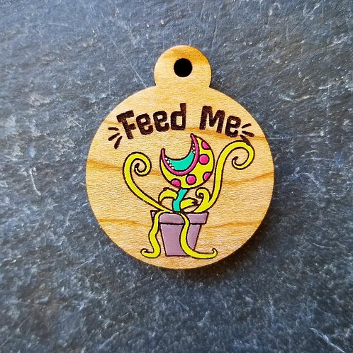 Feed Me Pet Tag