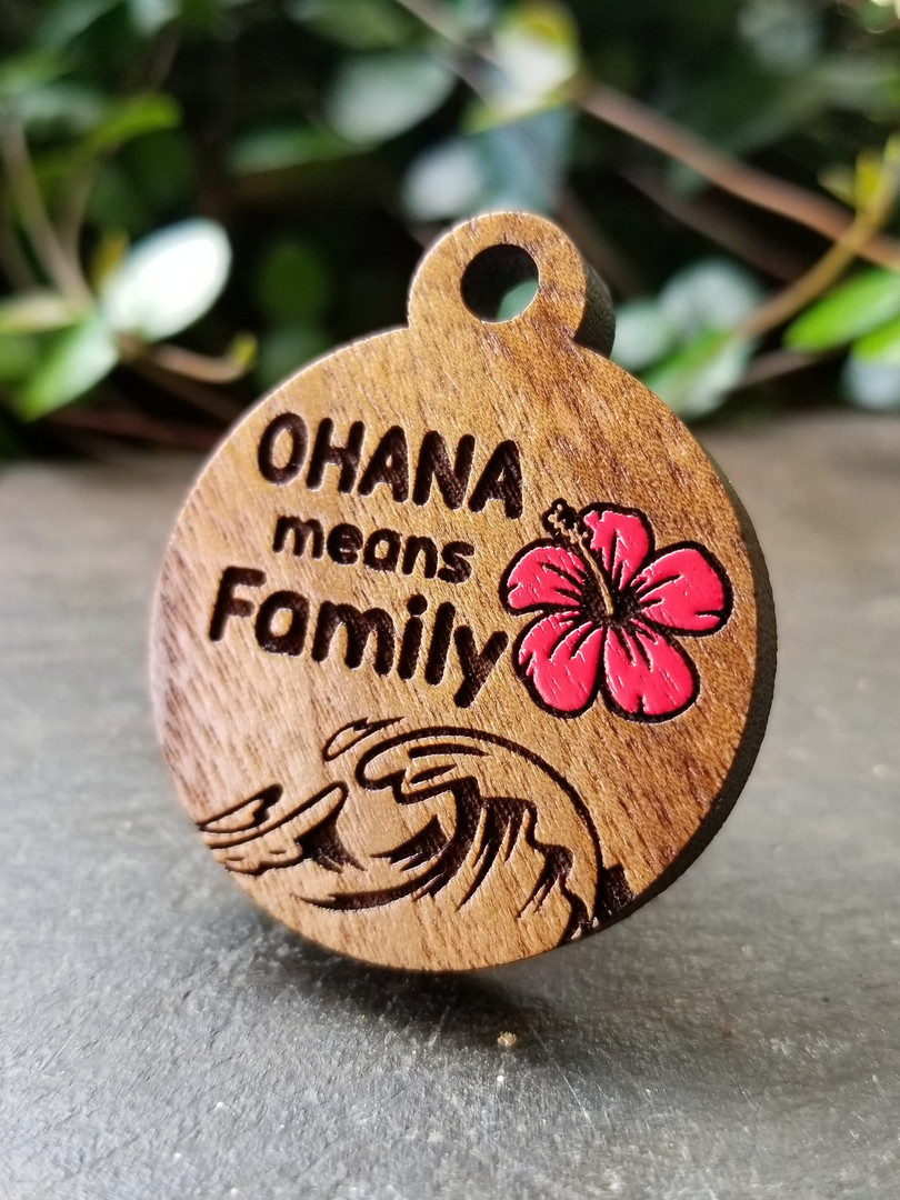 Ohana Wisdom on Walnut