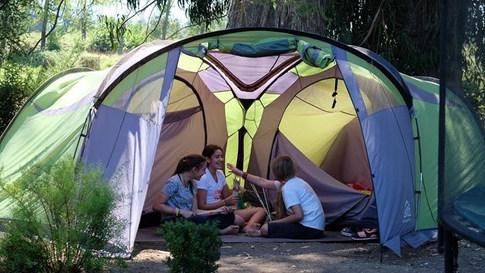 Tent life!