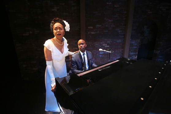 Karole Foreman & Stephan Terry as Billie Holiday and Jimmy Powers