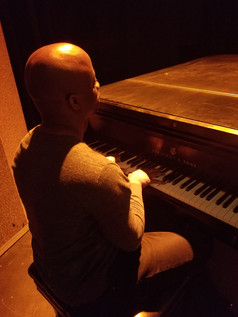 Stephan playing the Piano (Kansas-Fire in the Heart Rehearsal)