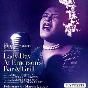Billie Holiday Show Poster