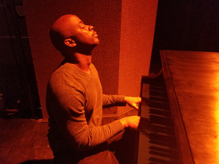 Stephan Terry meditation at the piano