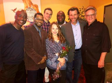 Salvage Cast and Crew- Stephan Terry, Damien D. Lewis, Chris Fordinal, Nina Herzog, Leonard Howse, David Atkinson, Tim Alderson,