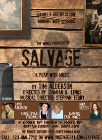 Salvage Show Poster