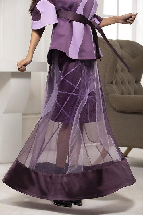 Move Monotone Two Layer Skirt