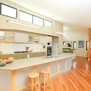 The big shared kitchen