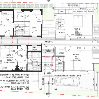 Approved plan for the Ground Floor