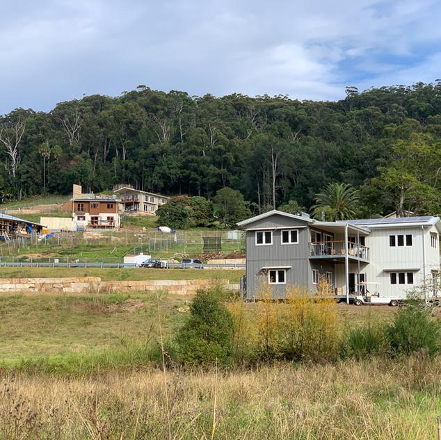 Narara Eco Village under construction
