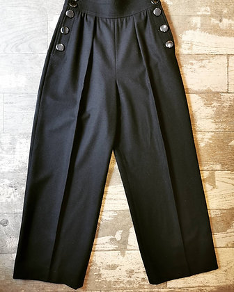 Pantalon à pont YSL