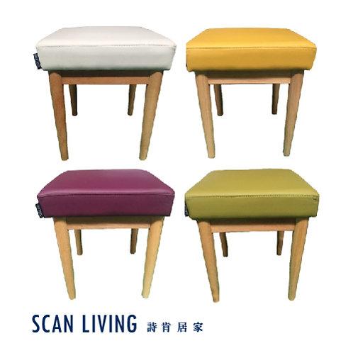 C20055-皮革方凳