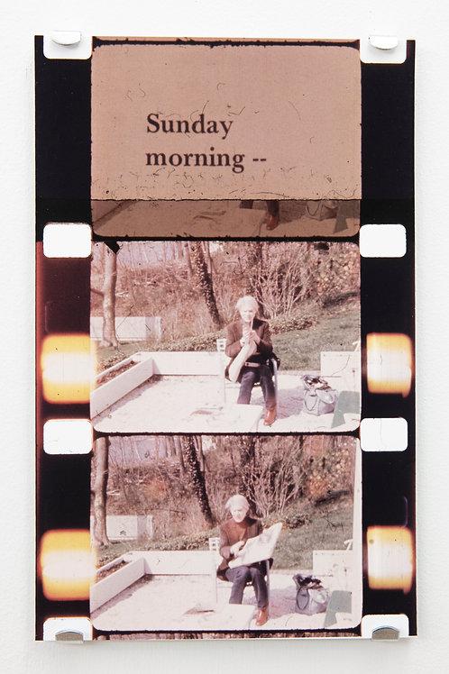 "JONAS MEKAS: ""Scenes from the Life of Andy Warhol"" Film Still"