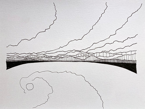 CHARLIE HUDSON: Drawing #9