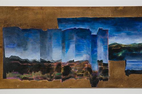 Folded landscape painting: part 2, 2020
