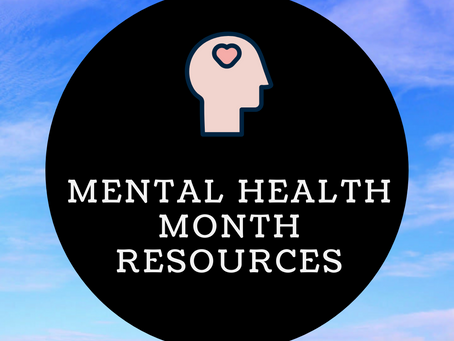 Resources for Mental Health Month