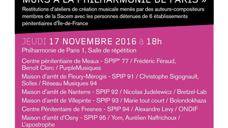 LIVE // 17.11 PHILARMONIE DE PARIS