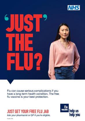 NHS Winter Flu Vaccine (UK)