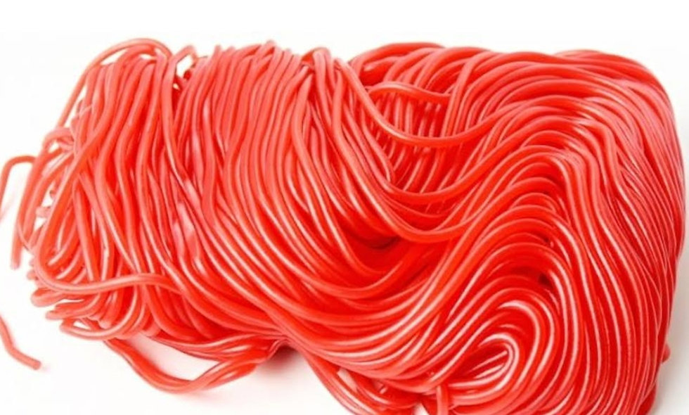 Strawberry Licorice Laces