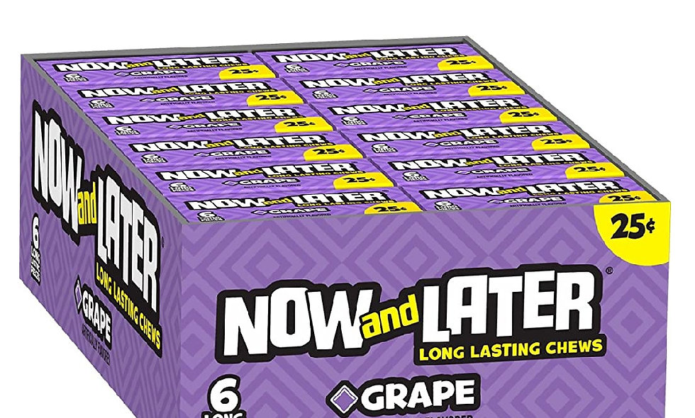 Grape Now and Laters