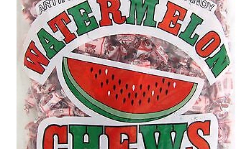 Watermelon Chews