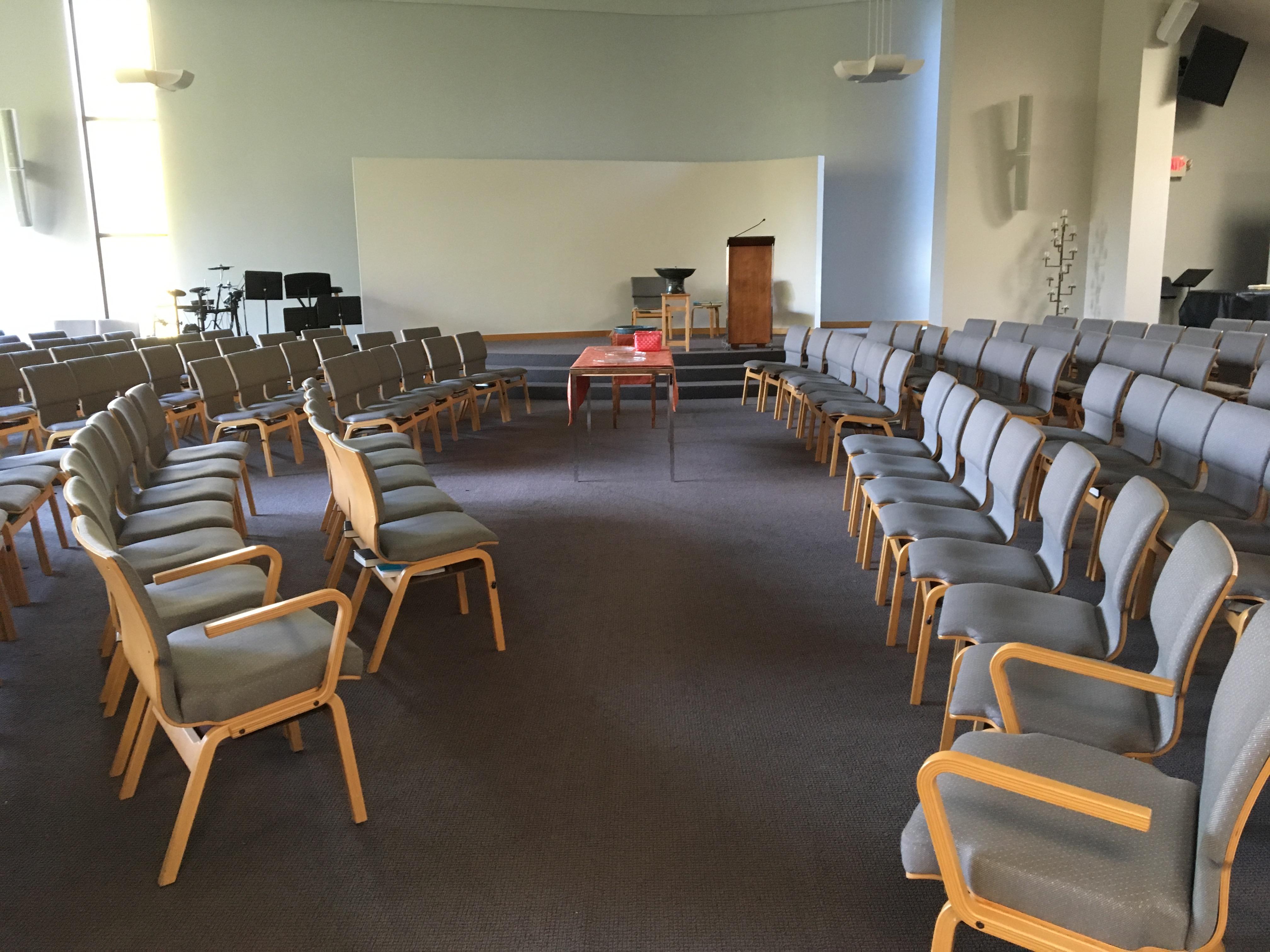 Sanctuary Alt Chair Setup
