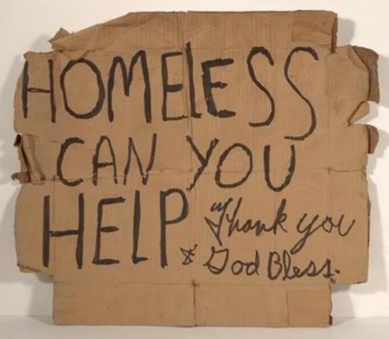 """""""Homeless Can You Help"""""""