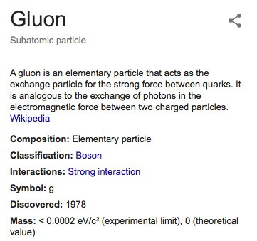Gluons and Gospels