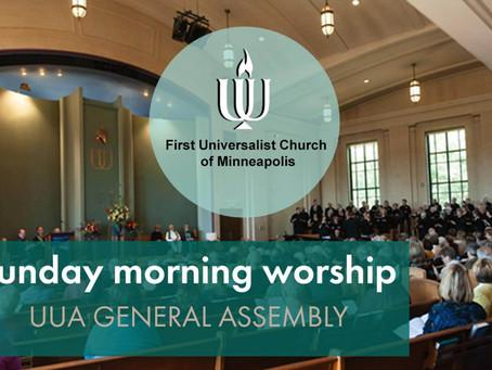 June 27, 2021   Online Worship   GA Sunday service