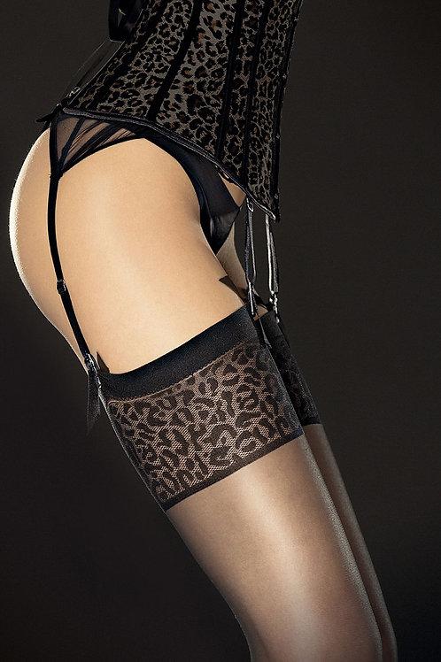 Jarretelle Panty Leopard