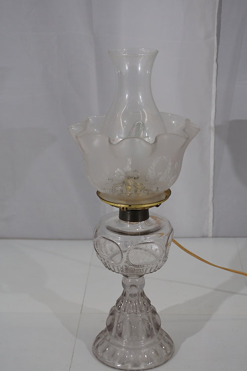Electric Converted Oil Lamp